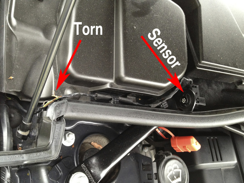 Bmw E36 External Temperature Sensor Location